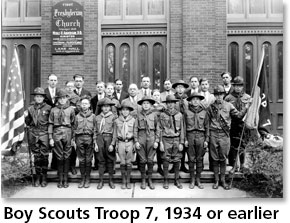 Boy Scouts, Troop 7 - 1934 or earlier