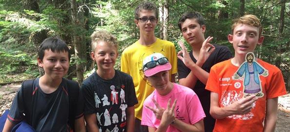 Camp friends