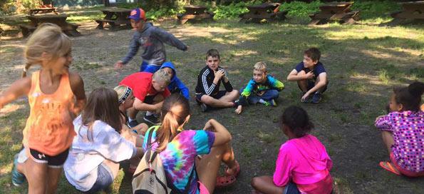 Games at camp!