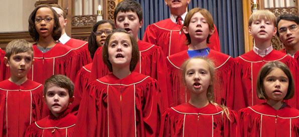Children's Choir in 2016