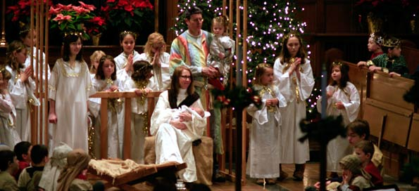 Family Worship and Christmas Pageant