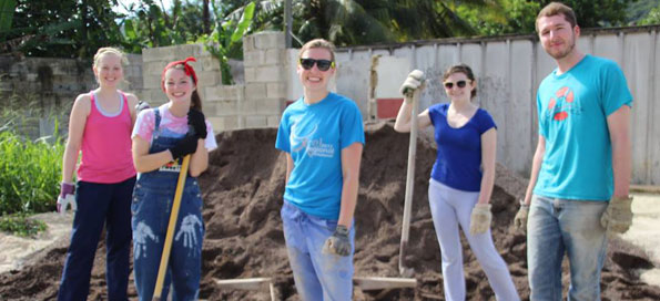 Jamaica Concrete Team