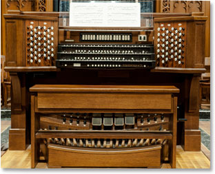 First Pres Sanctuary Organ