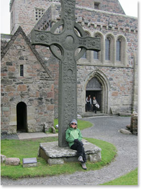 Rev. Rogers in Iona