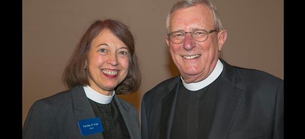 Rev. Fairfax and Rev. Buchanan at 2016 Luncheon