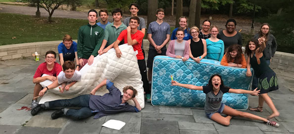 The Great American Mattress Relay of 2017!
