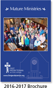 Mature Ministries Brochure 2016-2017
