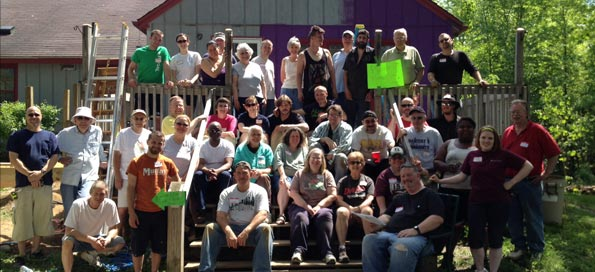 Mercy House Week of Service 2014