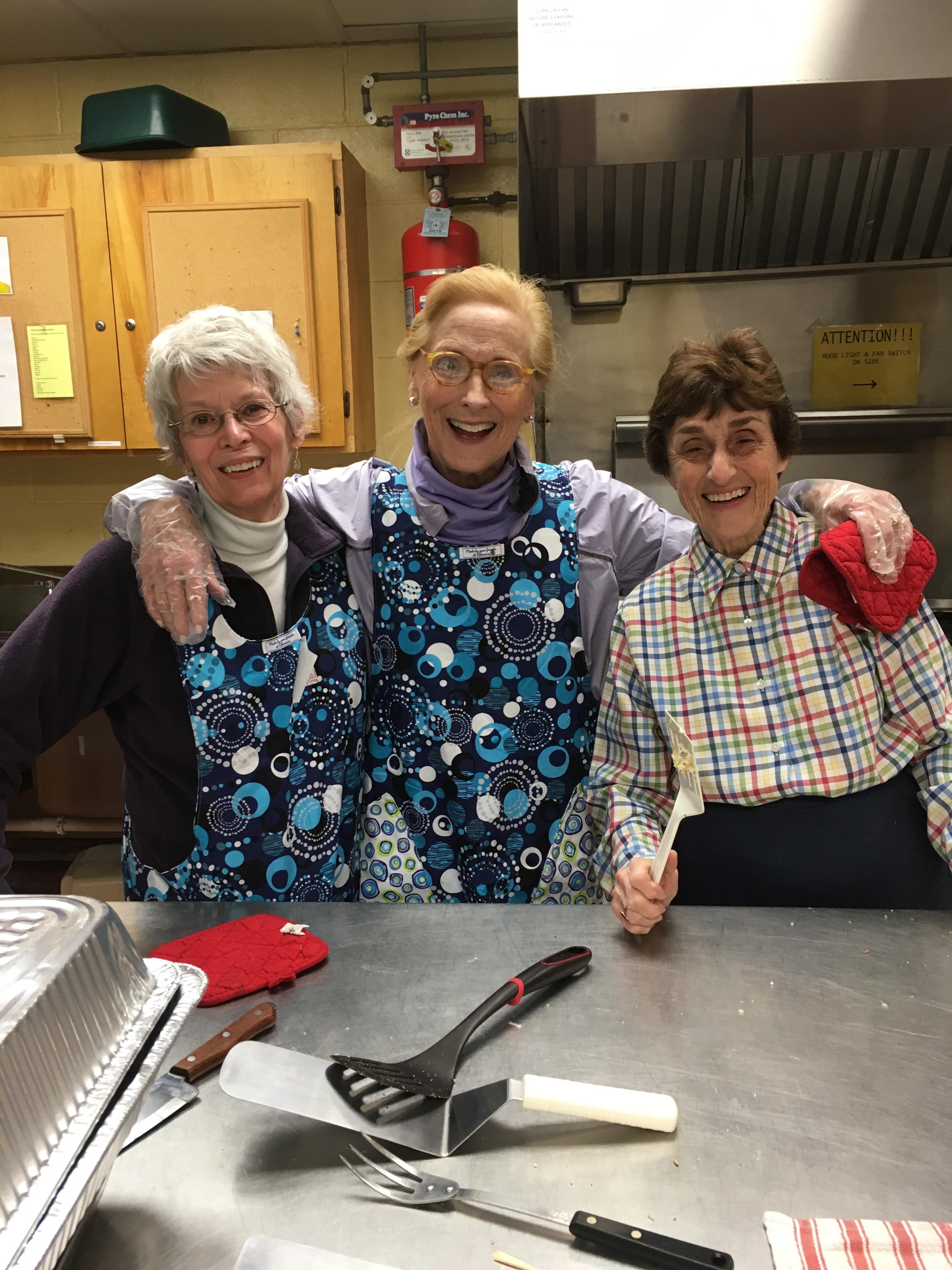 Having fun in the kitchen