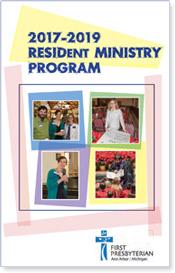 2017 - 2019 Resident Ministry Program