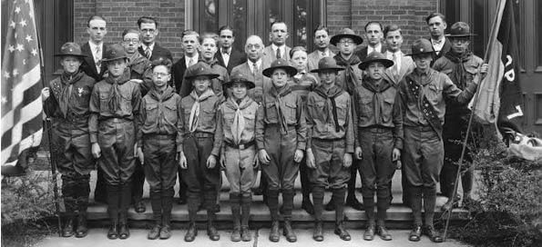 Troop 7 in 1926