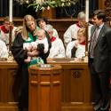 Baptism of a baby boy