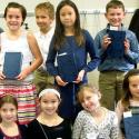 Third graders receive Bibles